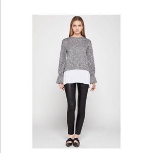 BCBGeneration Bell Sleeve Knit Top